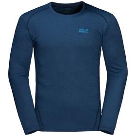 Jack Wolfskin Sky Range T-shirt à manches longues Homme, dark indigo